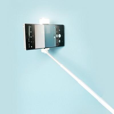 피넛 블링 LED 조명 블루투스 삼각대 셀카봉