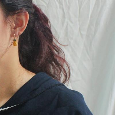 (자체제작) 귀여운 후르츠 귀걸이 4종세트