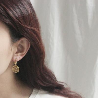 (제작) 1+1 원문양 귀찌 유니크 귀 안뚫는 귀걸이