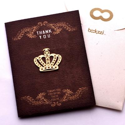 엔틱 왕관 - 책갈피 카드