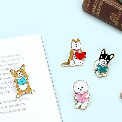 반려동물 뱃지_독서하시개