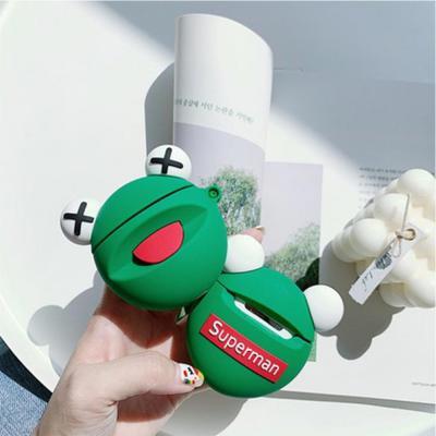 에어팟프로케이스 3세대 pro 개구리 캐릭터 키링 고리 실리콘 젤리 악세사리 스킨