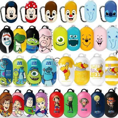 삼성 갤럭시버즈/플러스  정품 캐릭터 토이스토리/원피스/디즈니/푸우 하드케이스/카라비너세트