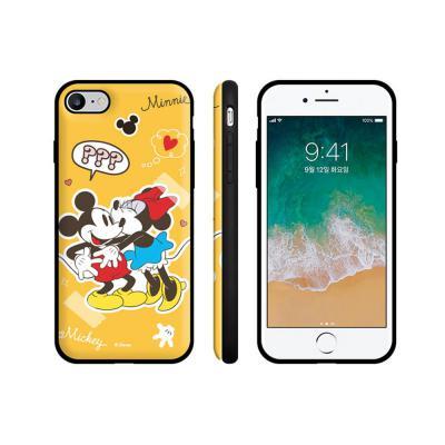 정품 디즈니 미키/미니 카드케이스 아이폰11/pro/프로맥스/xs max/xr/7/8+ 귀여운 캐릭터/거울 폰케이스