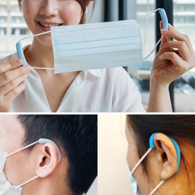 마스크고리/귀통증방지 면/일회용마스크/kf94/kf80 사용  밀착고정/귀걸이