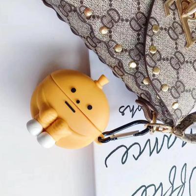 에어팟프로/1/2/3세대 쭈구리몬스터 캐릭터 귀여운 무선이어폰 실리콘/젤리케이스