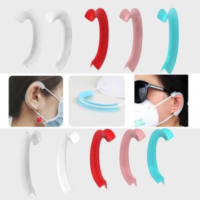 마스크고리/귀아픔방지 면/일회용/일반마스크에 사용/가볍고 편리한 착용감 귀걸이 2개세트