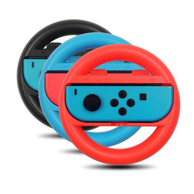 닌텐도스위치 Switch 조이콘 레이싱휠 핸들 그립 마리오카트 호환 악세사리 세트 2P