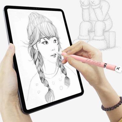 예쁜 애플펜슬실리콘케이스 1 2세대 스마트폰 아이패드 테블릿 정전식 터치펜 스킨 커버 그립