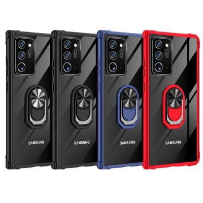 갤럭시 노트20/울트라  자석 스마트링/카메라보호 슬림핏 투명 하드 실리콘 충격흡수 휴대폰 케이스 모음