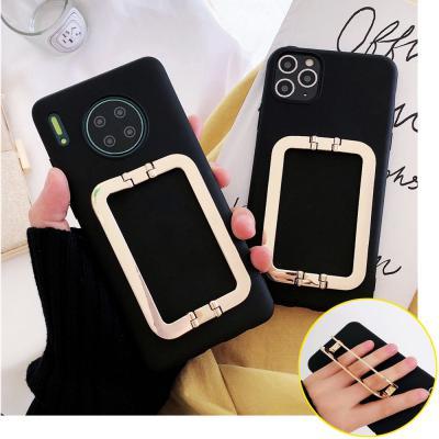 갤럭시노트10/플러스 사각 버클 스트랩 핸드폰 케이스