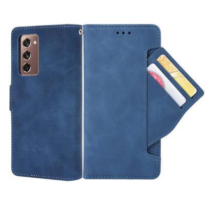 갤럭시 z폴드2 5g 카드 수납 포켓 지갑형 가죽/다이어리 핸드폰 케이스