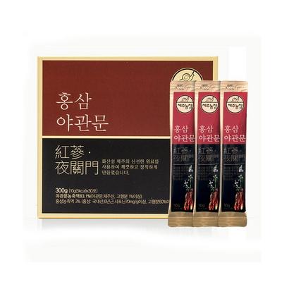 제주농장 홍삼 야관문 농축액 10g 30스틱