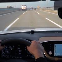 초보운전 차선유지 도우미 LED 가이드라인 스트라이트