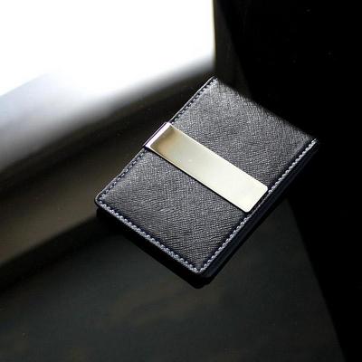 리더플랜 가죽 디자인 머니클립 지갑 레귤러