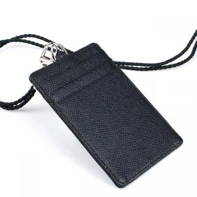 리더플랜 소가죽 카드 지갑 목걸이