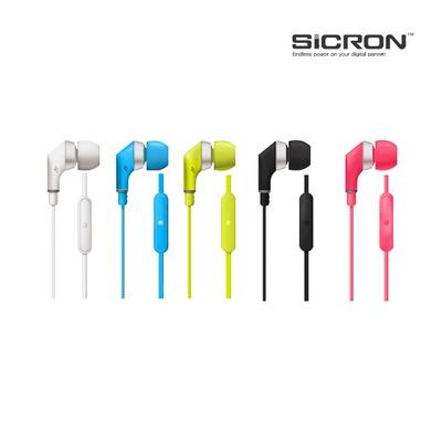 SICRON 플랫 인이어 이어폰 SM-50