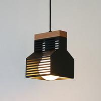 LED 블라인드1등 펜던트-블랙