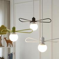 LED 플라이 3등 팬던트