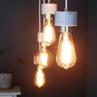 [LED] 에즈 4등 펜던트-에디슨