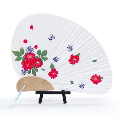 꽃보듬(압화) 조개부채 만들기 KIT