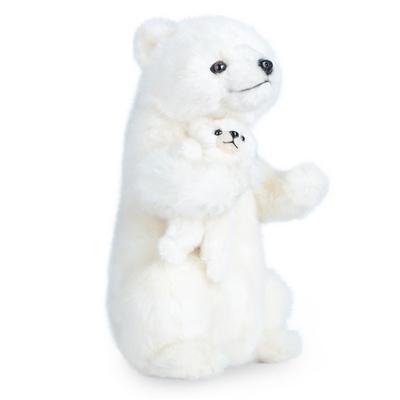 7964-북극곰 엄마와 아기 31cm.H