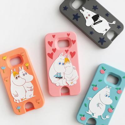 Moomin Galaxy S7 카드포켓 실리콘 케이스