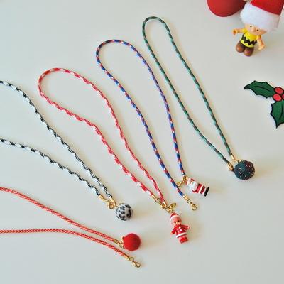 크리스마스 로프 마스크 스트랩(5type)