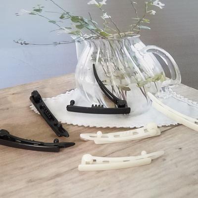 플라스틱 수동핀 3종 10개  헤어악세사리 재료 머리핀 애견핀