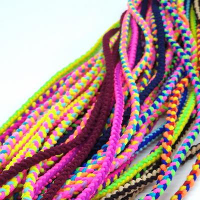 매듭 트위스트 꽈배기 고무줄 머리끈 헤어끈 재료 3마 270cm