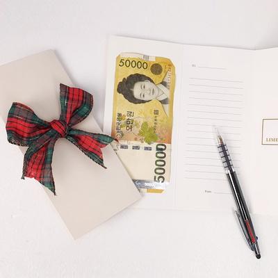 스페셜 편지지 용돈봉투 손편지 프리저브드 리본 감동
