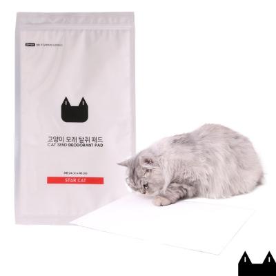 스타캣 고양이모래 탈취패드 3매입 모래탈취제