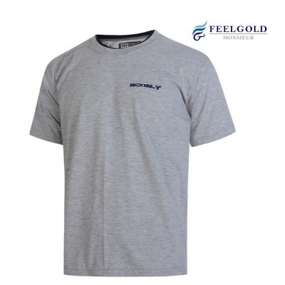 [필골드]면 반소매 티셔츠 맥클라니 프린트 이중 라운드 PT144