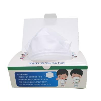 국내생산 소리소 MB3중필터 어린이용 마스크 소형 일회용마스크 1박스25매입