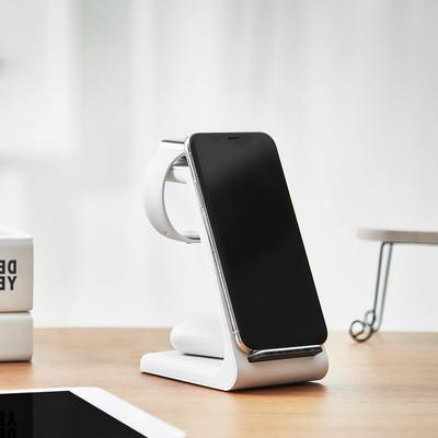 만렙 3in1 무선충전기 애플 갤럭시 워치 충전독