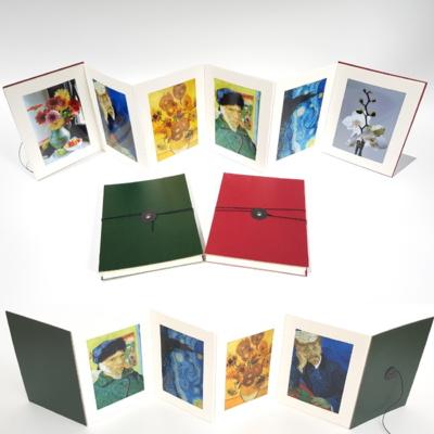 양면 접이식 종이액자 폴딩앨범 4x6 크기