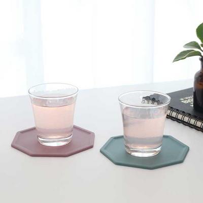 실리콘 컵받침 티코스터
