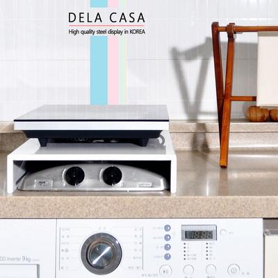 델라카사 가스렌지 인덕션덮개 2구덮개 색상2종 택 1
