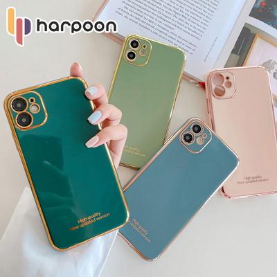 하푼 아이폰11 골드라인 렌즈보호 케이스