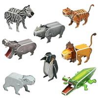 크래커플러스 똑딱 3D 입체퍼즐 동물시리즈 8종