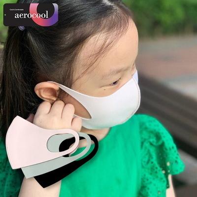 [당일출고] 숨쉬기 편한 여름용 쿨 3D 입체 연예인 패션 마스크 _ 어린이용