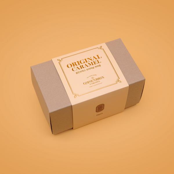 골든브릭스 오리지날 수제  캐러멜(8g x 16pcs)