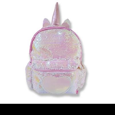 플래티 블링블링 스팽글 백팩 반짝이 가방(디자인특허등록) 큰사이즈 유니크한 디자인 깜찍하고 귀여운 스타일(5세~11세)