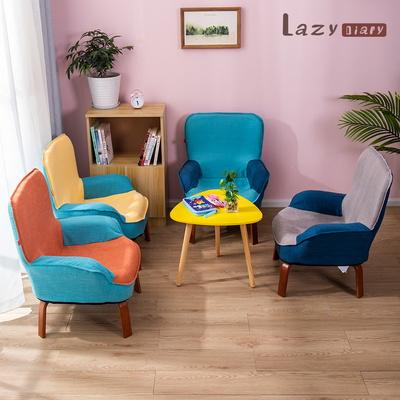 레이지다이어리 소프트 키즈 소파 1인용 어린이 아동 의자 접이식