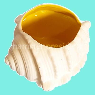 햄스터 소라 목욕실 화장실(노랑)