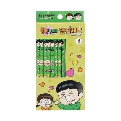흔한남매 연필세트(8개입)