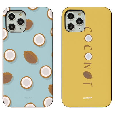 마그네틱 도어 범퍼 미러 코코넛 민트 핸드폰 케이스