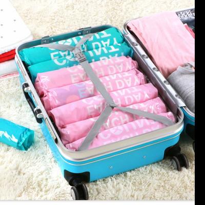 롤업 여행용 압축팩 파우치 6매 여행필수품