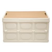 소소일상 접이식 캠핑 폴딩박스 우드 테이블