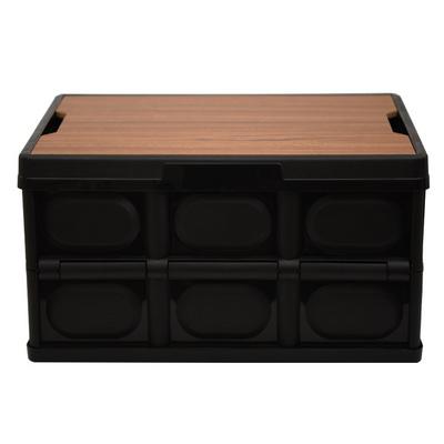 소소일상 접이식 캠핑 폴딩 박스 우드 테이블